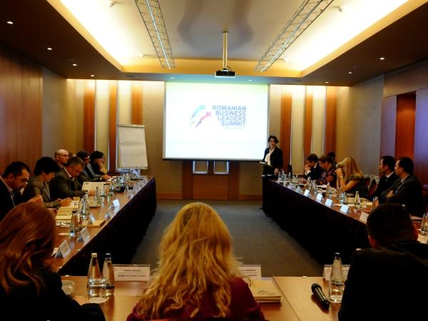 Componenta celor 6 echipe de moderatori la Romanian Business Leaders Summit