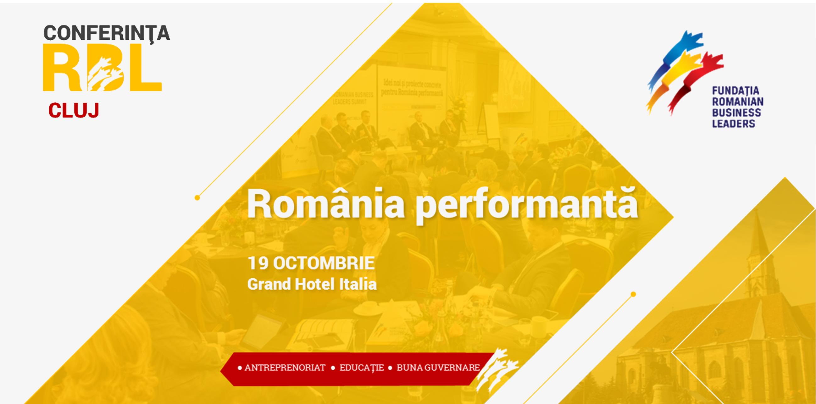 Agendă RBL Cluj – 19 octombrie