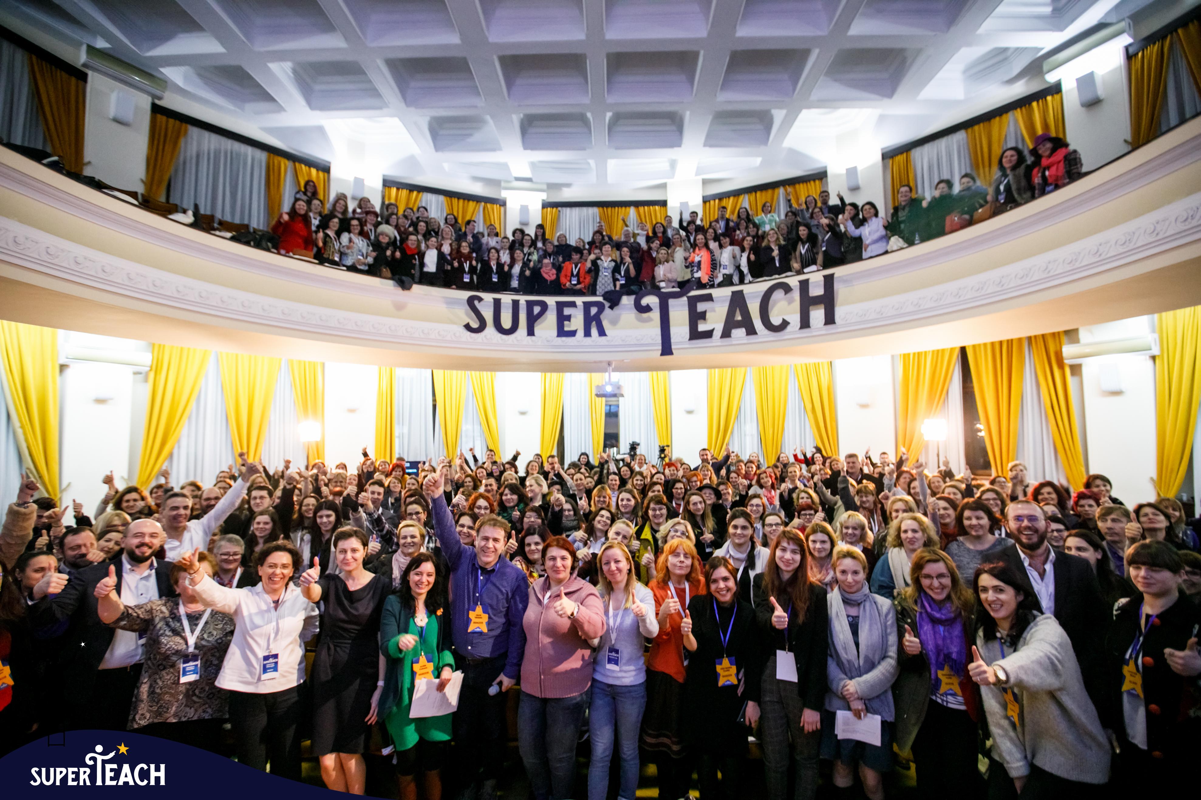 SuperTeach la Sibiu   28 aprilie 2018