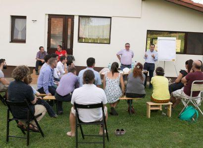 RBL Cluj prinde tot mai mare avânt în dezvoltarea comunităților rurale adoptate