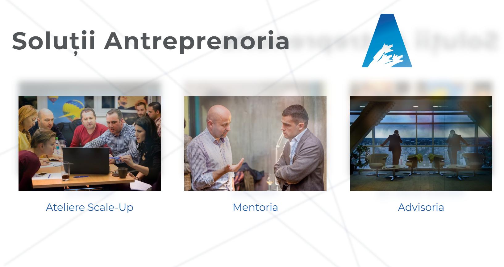 Antreprenoria: One-stop-shop pentru companii scale-up