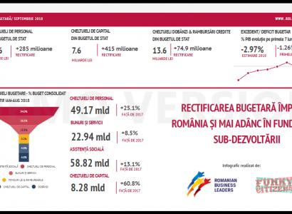 Rectificarea bugetară împinge România și mai adânc în fundătura subdezvoltării