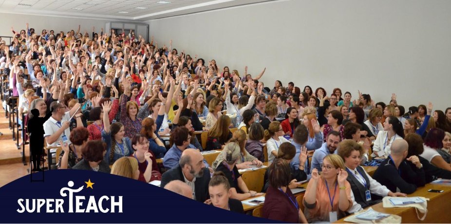 SuperTeach, conferință dedicată dezvoltării aptitudinilor și competențelor profesorilor,  ajunge la  Craiova si Cluj Napoca