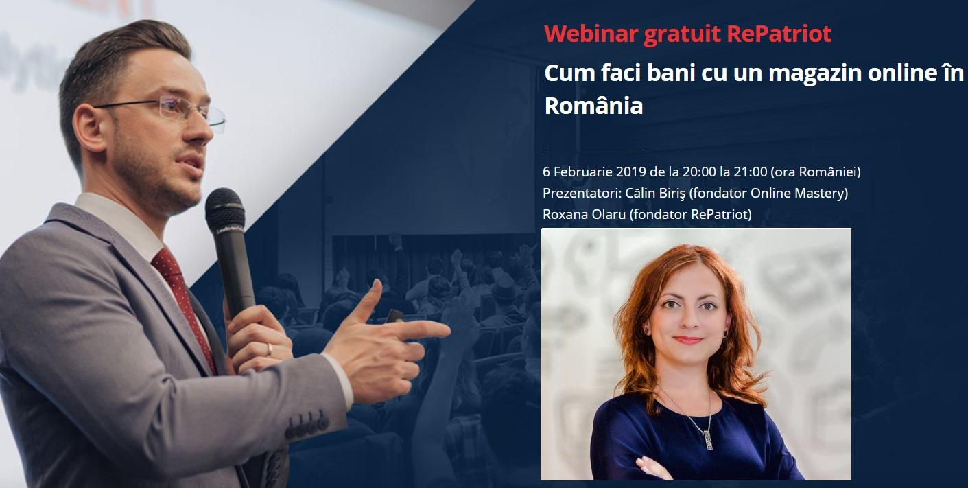 RePatriot invită românii de pretutindeni să facă un pas pentru deschiderea de afaceri online în țară