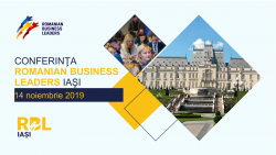 Conferința Romanian Business Leaders Iași 2019 @ Congress Hall