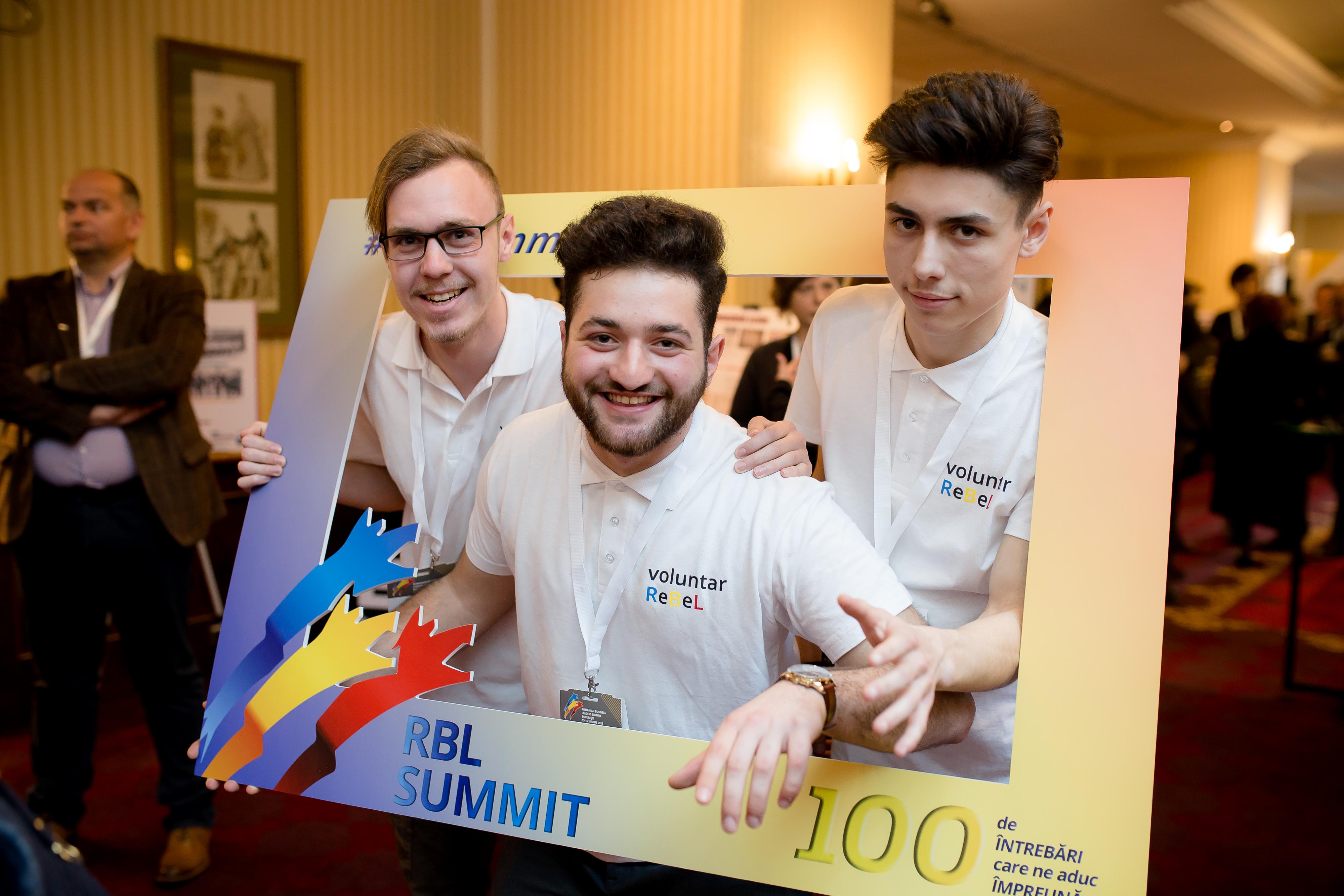 VOLUNTAR în Fundația Romanian Business Leaders