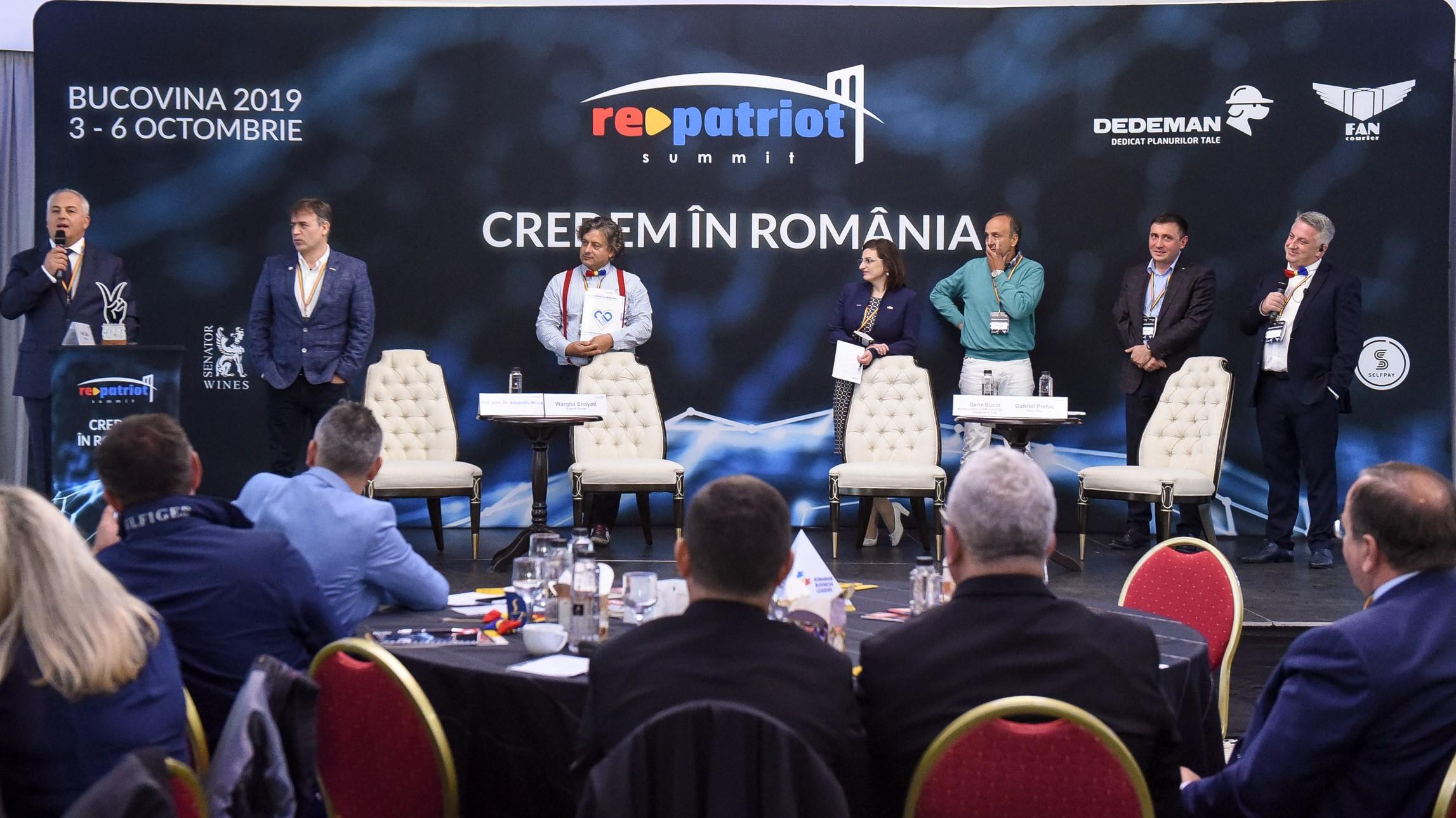 Credem în România – spun antreprenori români de pretutindeni la Summitul RePatriot din Bucovina