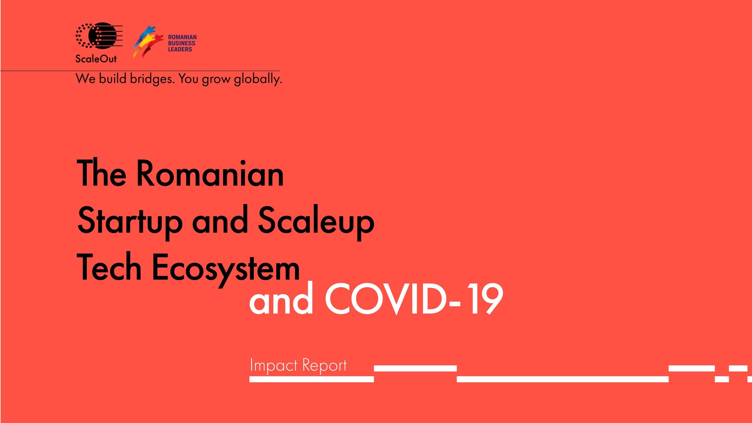 ScaleOut: Covid-19 Impact Survey – Romanian Tech Startups&Scaleups