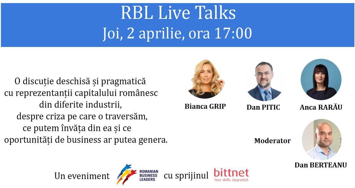 RBL Live Talks #1