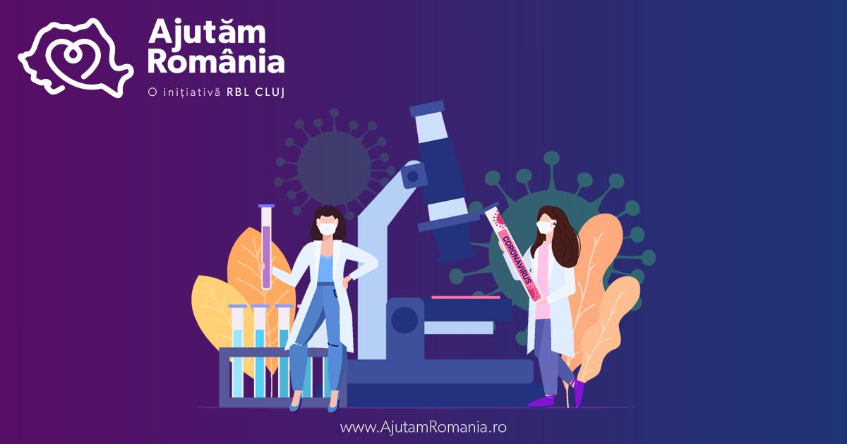 RBL Cluj lansează platforma AjutamRomania.ro