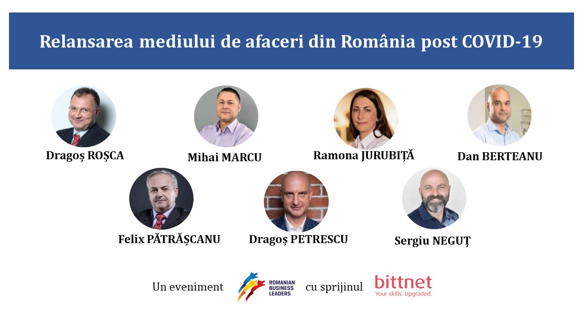 Relansarea mediului de afaceri din România post COVID-19