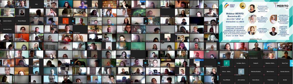 Învăţare colaborativă online pentru peste 3.600 de profesori, prin MERITO, de la închiderea şcolilor