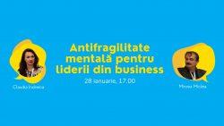 Webinar RBL – Antifragilitate mentală pentru liderii din business @ Online event