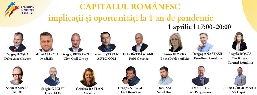 CAPITALUL ROMÂNESC – Implicații și oportunități la 1 an de pandemie
