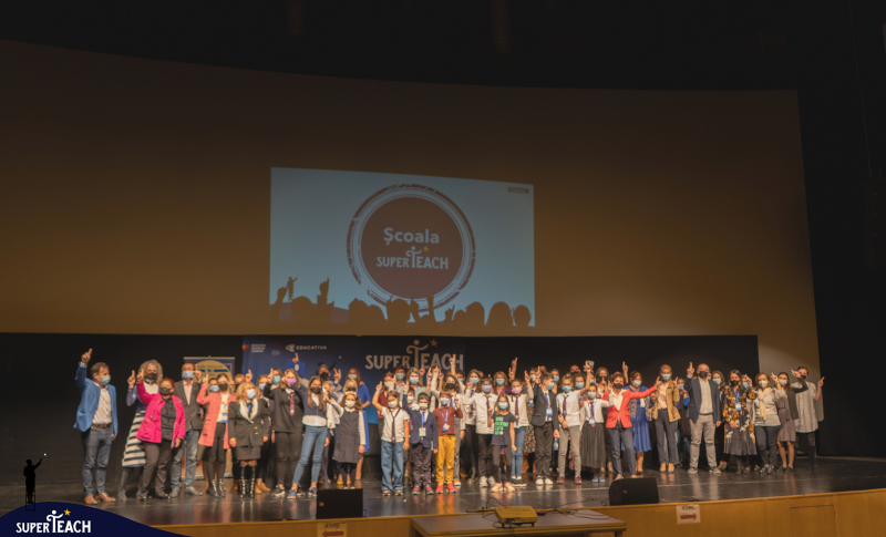 """SuperTeach lansează primul proiect de schimbare de mentalitate în educație a unei școli de stat.  Școala Gimnazială nr. 28 """"Dan Barbilian"""" din Constanța va deveni """"Școală SuperTeach"""""""
